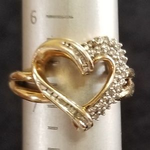 Jewelry - 925 Heart Ring